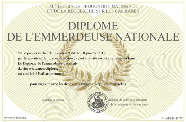 Diplome 60 Ans Gratuit Imprimer