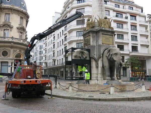 CHAMBERY La fontaine n'a plus ses éléphants