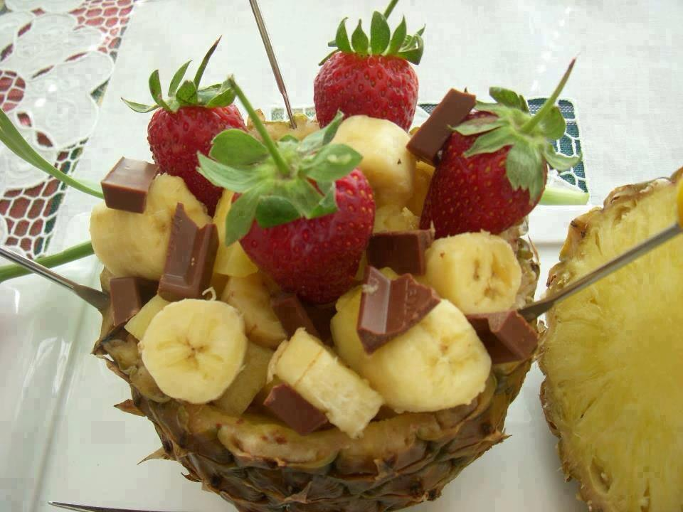 Idee decoration repas for Decoration salade de fruits